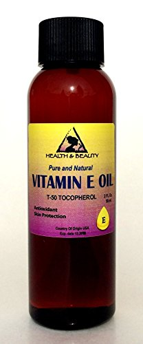 Tocopherol T-50 Vitamin E Oil Anti Aging Natural Premium Pure 2 oz