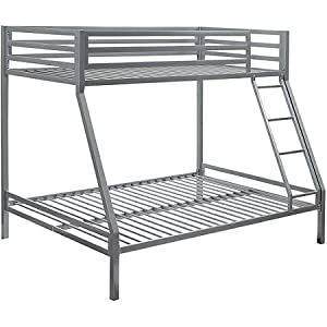 Your Zone Premium Twin Over Full Bunk Bed Quality Bedroom Furniture