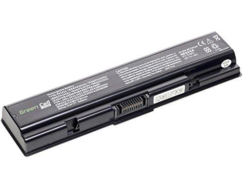 Green Cell® PRO Series Laptop Notebook Akku Batterie für Toshiba Satellite L500-208 (Original Zellen von Samsung, 5200mAh), 205x50x20mm / schwarz / Premium-Qualität Zellen