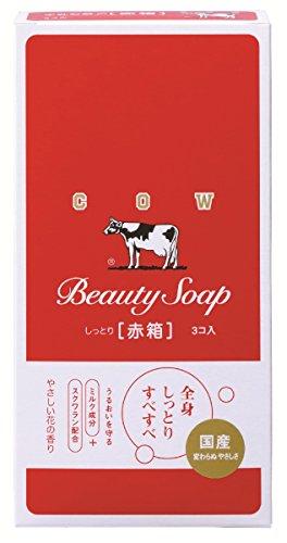 牛乳石鹸 カウブランド 赤箱 3コ入