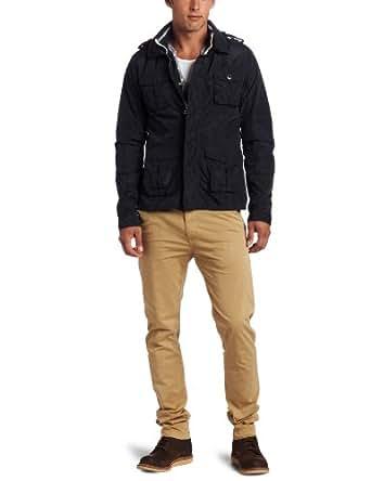 Scotch & Soda Herren Jacke 12010110022 - Short nylon jacket, Gr. 50 (L), Blau (58 - night)