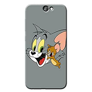 HAPPY MOUSE & CAT BACK COVER FOR HTC ONE A9