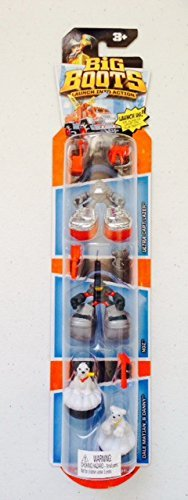 Matchbox Big Boots 3-pack Figure Set - Ultra Blaze Busters