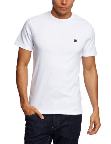 Duck and Cover Colin  Men's T-Shirt White Small
