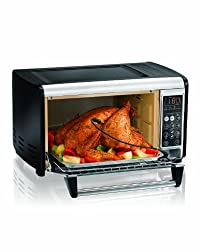 Hamilton Beach 31230 Set & Forget Toaster Oven with Convection Cooking