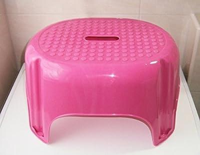 TRITTHOCKER 43x34x25cm pink Trittstufe Fußbank Fußhocker Kinderhocker Hocker 47 von Eco bei Gartenmöbel von Du und Dein Garten