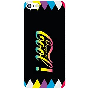 I Phone 5C Phone Cover - Its Good To Be Cool Matte Finish Phone Cover