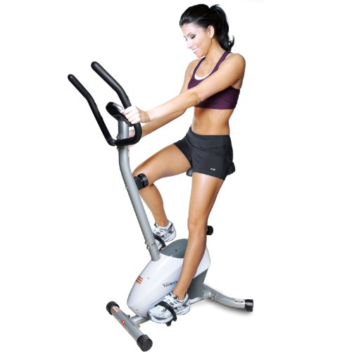 Velocity Exercise Magnetic Upright Exercise Bike (Indoor Upright Stationary compare prices)