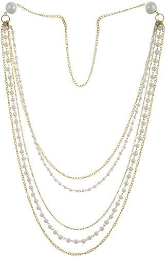 sempre-london-european-gorgeous-chain-cream-pearls-multi-strand-18ct-gold-two-tone-plated-chain-bead