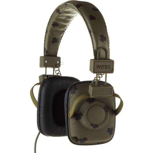 ヘッドホン おしゃれ Wesc Maraca Headphones Clover Night Greenをおすすめ