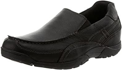 Rockport Men's Ct Venetian Slip-On,Black,6.5 W US