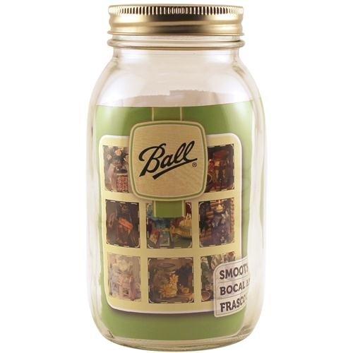 Ball Art Smooth Jar-Regular Mouth W/Lid-Quart Set of 12 (Jar Art compare prices)
