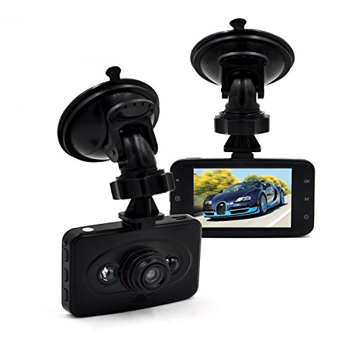 Sharker 2.4 inch 90 Degree Wide Angle View TFT LCD Full HD 1080P Car DVR, Blackbox Traveling Driving Data Recorder / Camcorder Vehicle Camera with Night Vision and Motion Detection / G-Sensor, BLACK