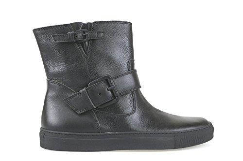 scarpe donna L'AUTRE CHOSE stivaletti nero pelle AK829 (36 EU)