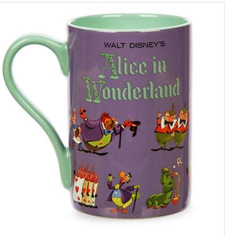 Disney Alice nel paese delle meraviglie Record, artwork Tazza