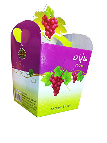 2 Packs of Grape Paste 90 G., Premium Snack From Thailand (Pantry Grape Juice compare prices)
