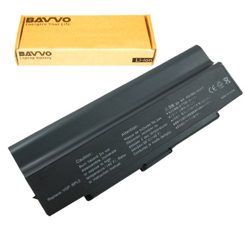 Click to buy SONY VAIO VGN-FS840/W Laptop Battery - Premium Bavvo® 9-cell Li-ion Battery - From only $26.98