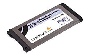 21IN1 Multimedia Reader/writer Expresscard 34SLOT Mac/pc Sd/mmc/xd