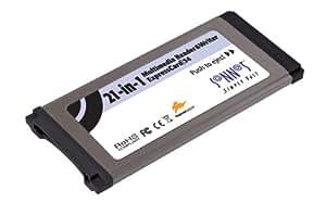 21IN1 Multimedia Reader/writer Expresscard 34SLOT Mac/pc Sd/mmc/xd