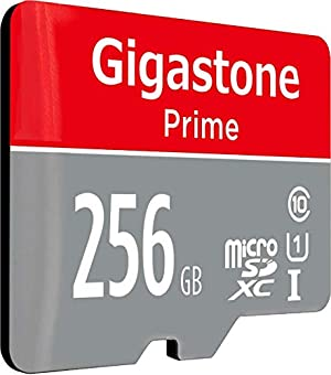 Gigastone 256GB MicroSD Card 2-Pack UHS-I U1 Class 10 SDHC Memory Card with SD Adapter High Speed Full HD Video Nintendo Dashcam Gopro Camera Samsung Canon Nikon DJI Drone (Color: 256GB U1 2 Pack)