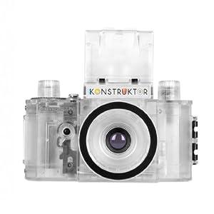 Lomography Konstruktor Do-It-Yourself 35mm Film SLR Camera, Transparent Collector's Edition Kit