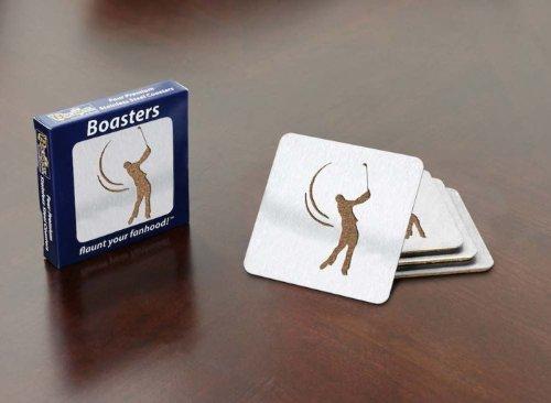 Sportula Products Golfer 4-Piece Boaster Coaster set