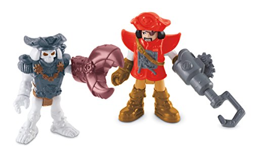 Fisher-Price Imaginext Pirate & Skeleton - 1