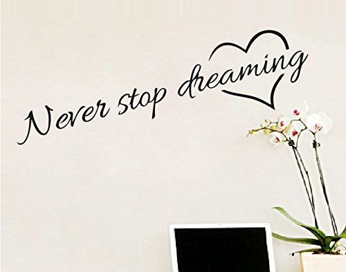 ecloud-shopr-diy-proverbes-anglais-never-stop-dreaming-etanche-amovible-creative-stickers-muraux-cha