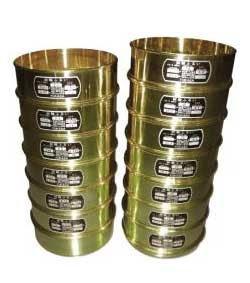 粒度試験用篩 12種 蓋及び受皿付 S-125