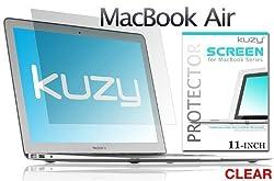 Kuzy - CLEAR AIR 11-inch Screen Protector Film for Apple MacBook AIR 11.6