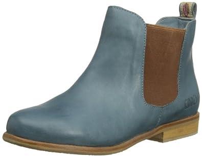 Coolway SELENA SELENA Damen Chelsea Boots, Blau - blau - Größe: 6 UK