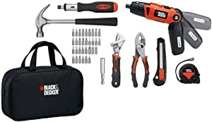 Black & Decker LI2000PK Lithium-Ion Screwdriver and Project Kit