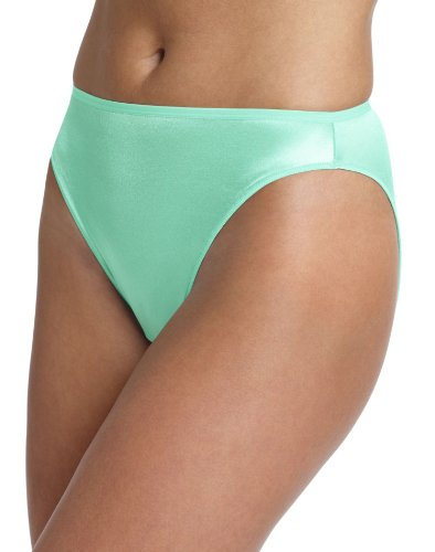 Hanes Women's Body Creations Stretch Satin Hi-Cut Panties3 Pack Assorted