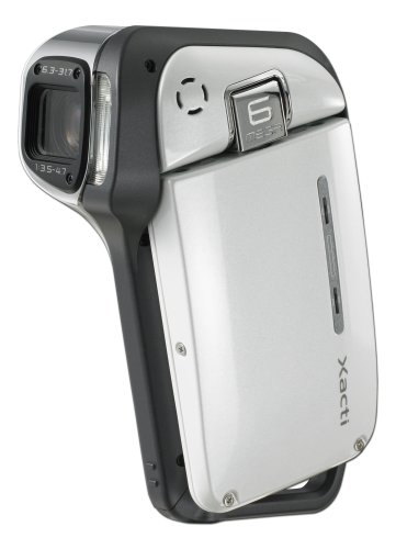 Sanyo Xacti VPC-E1 6MP Waterproof MPEG4 Camcorder with 5x Optical Zoom (White)