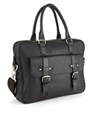 Autograph Leather Hoxton Laptop Bag