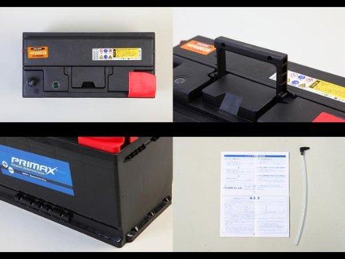 PRIMAX MF60038 100AH 新品バッテリー 2年または4万km製品補償付 メルセデスベンツ BMW アウディ フォルクスワーゲン ジャガーなど 適合品