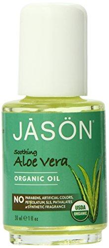 JASON Soothing Aloe Vera Organic Oil, 1 Ounce
