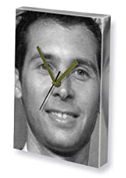 JUSTIN BERFIELD - Canvas Clock (LARGE A3 - Signed by the Artist) #js001
