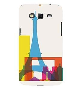 PrintVisa Paris Modern Art Design 3D Hard Polycarbonate Designer Back Case Cover for Samsung Galaxy Grand 2