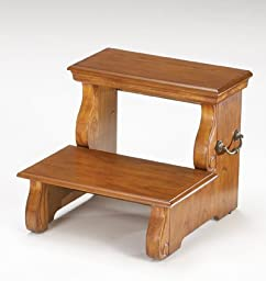 Bernards 7681 Oak Step Stool