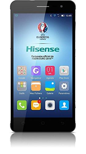 """Smartphone Hisense C20 King kong II Black. 32Gb ROM, 3 Gb RAM, 5"""", Dual SIM, 4G, 13Mpx/5Mpx, 3100 mAh, Gorilla Glass 4, IP67"""