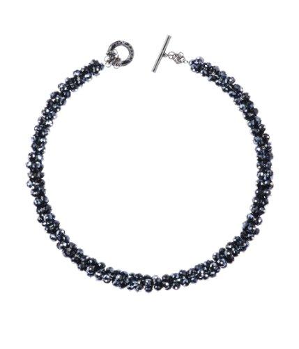 Ted Baker Slinky: Bead Cluster Choker in Black