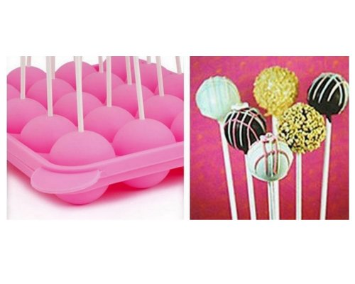 Mould Baking Tray Stick Party Silicone Bake Chocolate Cookie Tools front-400868