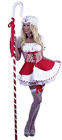 Red Sexy Little Bo Peep Costume