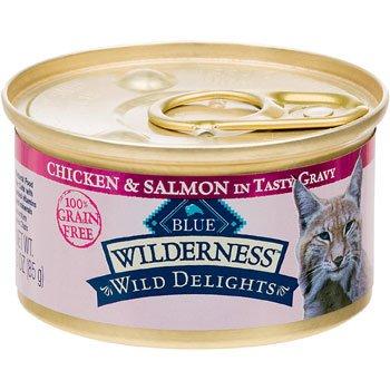 Blue Buffalo Wilderness Wild Delights Chicken & Salmon in Gr