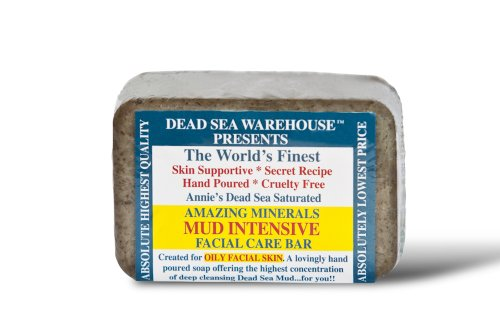 Dead Sea Amazing Minerals Mud Intensive Facial Care Bar - THE BIG BAR - 5.2 oz daniel hotel dead sea ex golden tulip dead sea 5 мертвое море