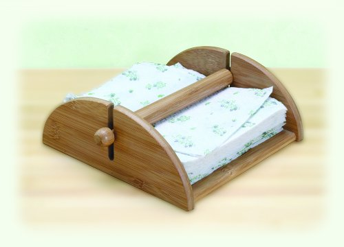 Natural Living Bamboo Napkin Holder
