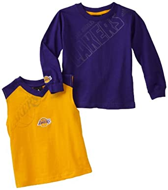 NBA Los Angeles Lakers Tip Off Combo Pack 1 - K849N3La Toddler by adidas