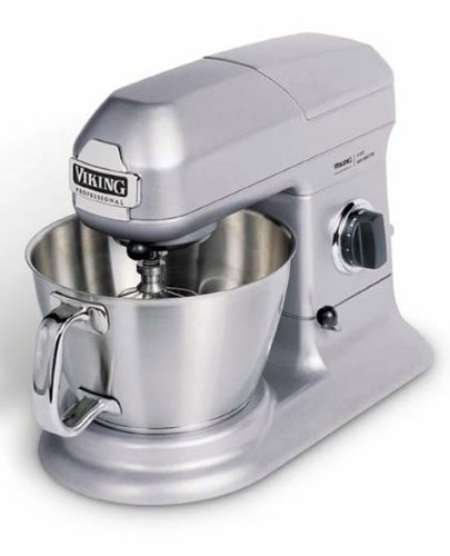 Viking Professional 5 -Quart Stand Mixer, Stainless Gray front-54112