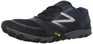 New Balance Men's MT10BS2 Minimus Trail Running Shoe,Black/Silver,10.5 D US